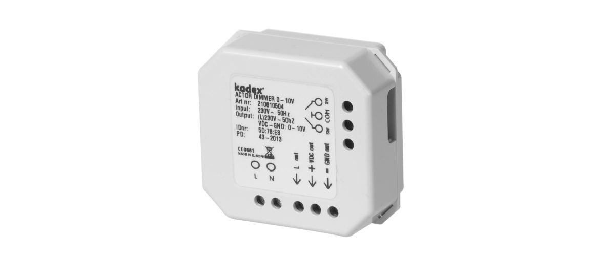 Trådløs 1-2 kanal rele 230VAC 868MHz