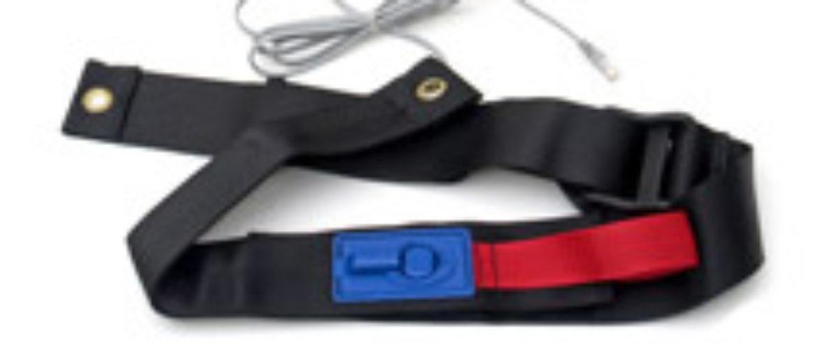 Sikkerhetsbelte med alarmfunksjon