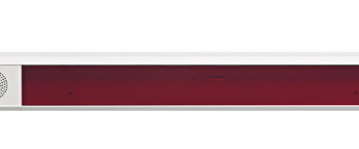 Dobbelt-/enkeltsidig korridordisplay for vegg montering