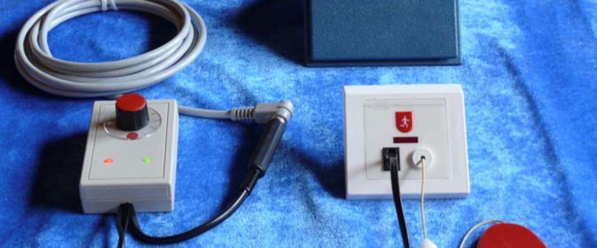 NESK 132 trekkontakt med tilknyttet kinn/fot kontakt m. timer